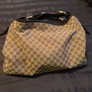 Authentic Vintage Gucci Hobo SaddleBag
